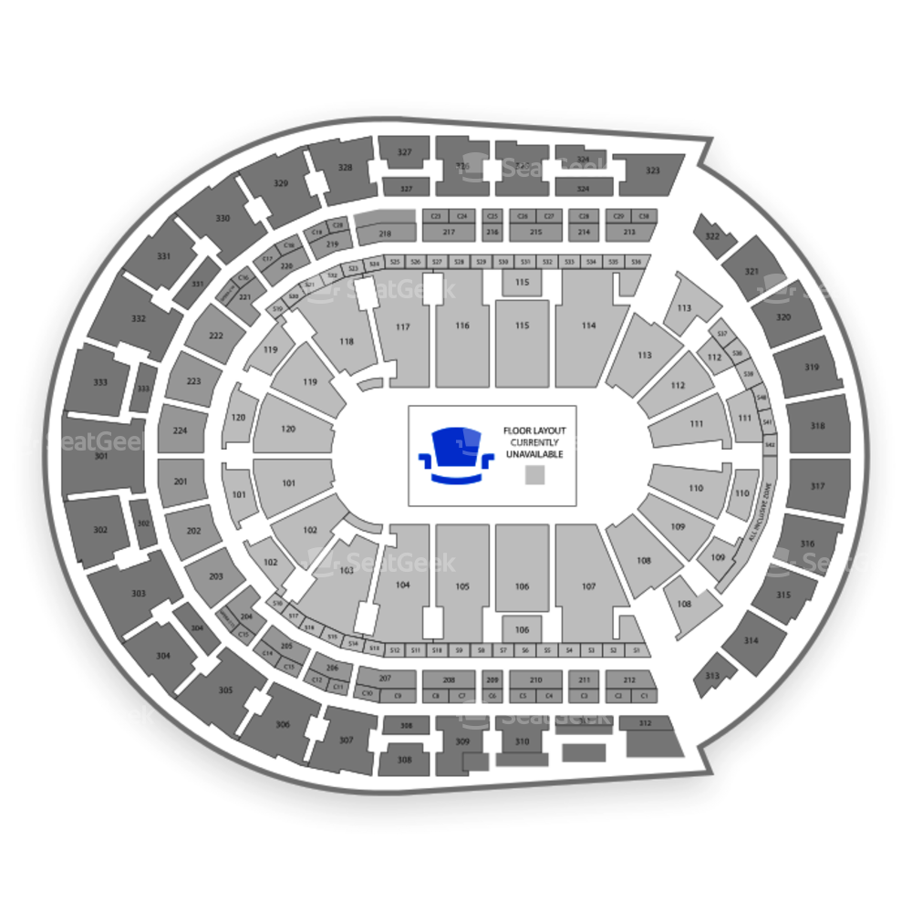 Bridgestone Arena Seating Chart Rodeo