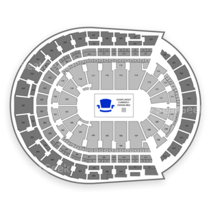Bridgestone Arena Seating Chart Dance Performance Tour