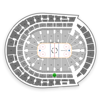 Nashville Predators at Bridgestone Arena Section 209 View