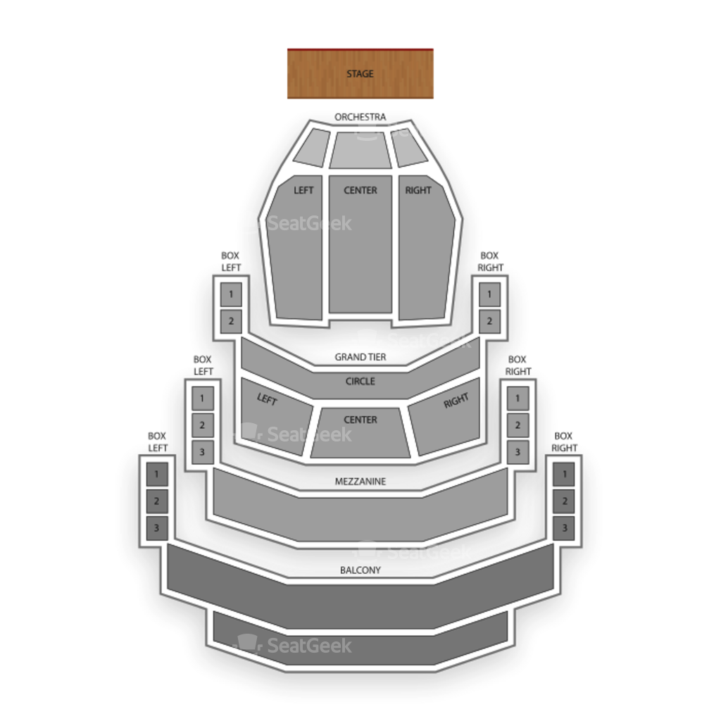 Belk Theater Seating Chart | SeatGeek