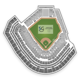AT&T Park Seating Chart Literary