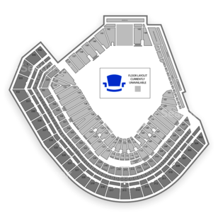 AT&T Park Seating Chart Music Festival