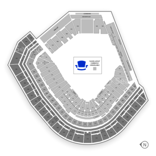 Oracle Park Seating Chart NCAA Football