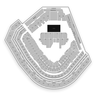 Oracle Park Seating Chart Concert
