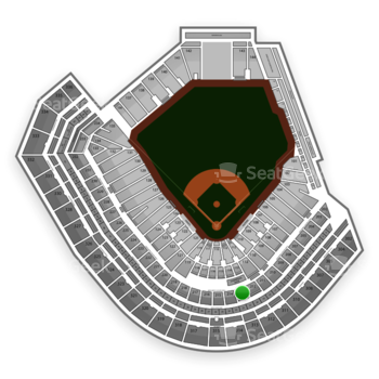 San Francisco Giants at AT&T Park Section 213 View