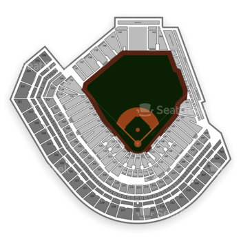 San Francisco Giants at AT&T Park Section 120 View