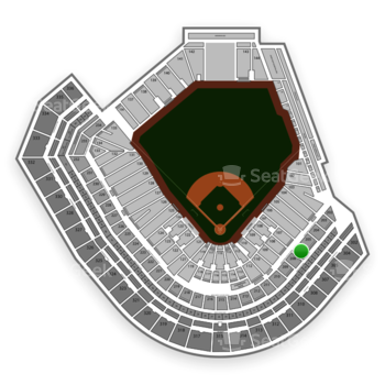 San Francisco Giants at AT&T Park Section 207 View