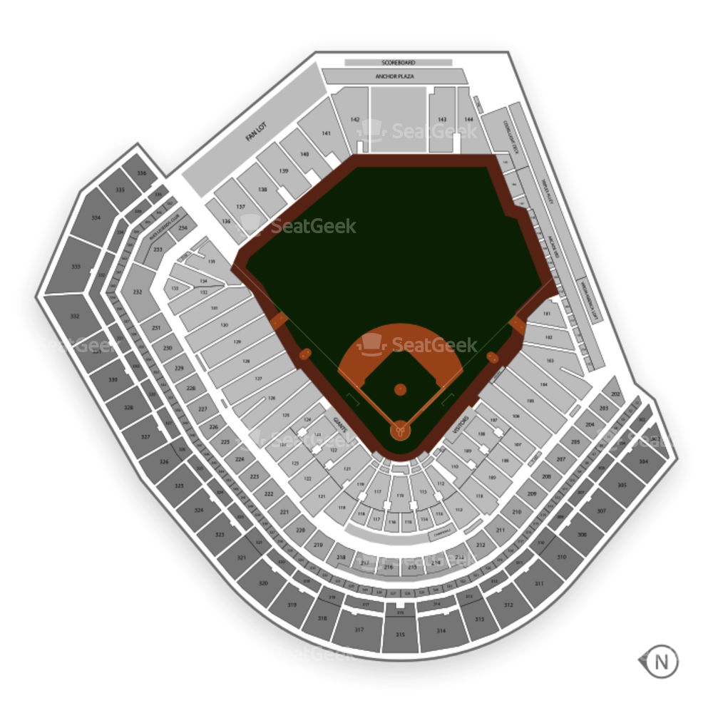 San Francisco Giants Seating Chart