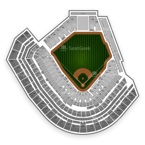 AT&T Park seating chart San Francisco Giants
