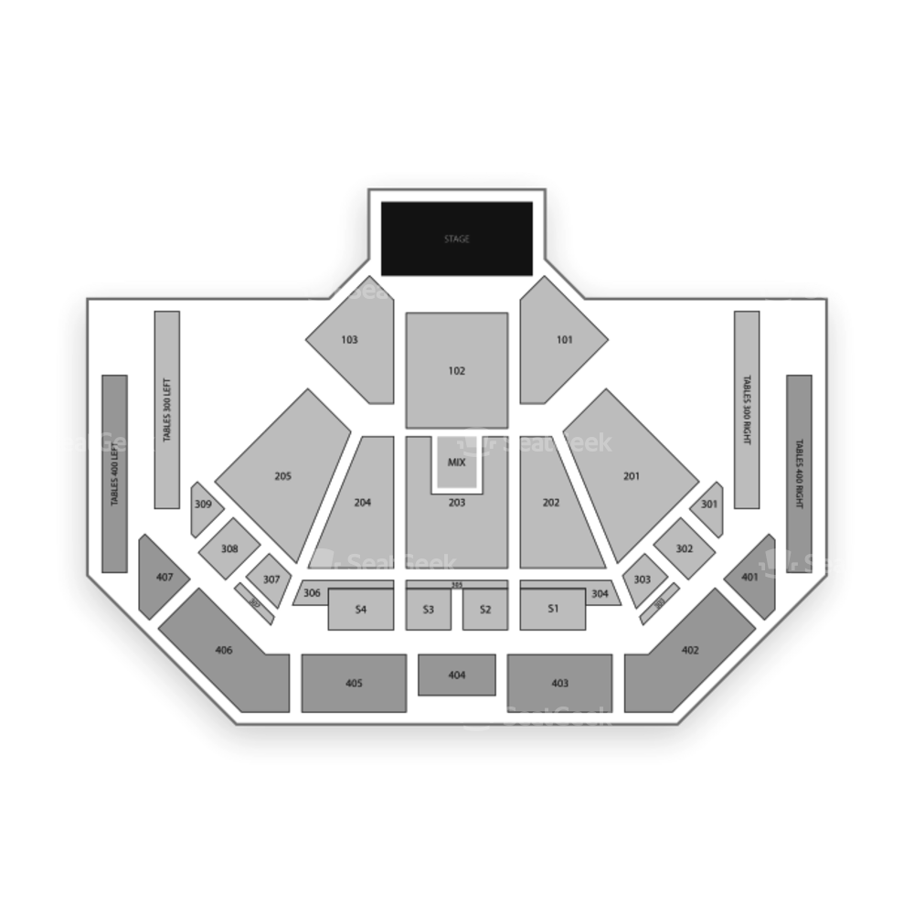 Choctaw Grand Theater Seating Chart Concert