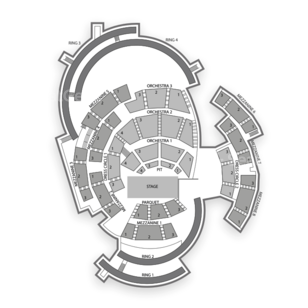 Boettcher Concert Hall Seating Chart Concert