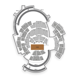 Boettcher Concert Hall Seating Chart Classical Vocal