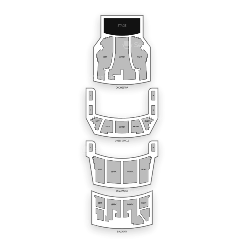 CIBC Theatre Seating Chart Broadway Tickets National