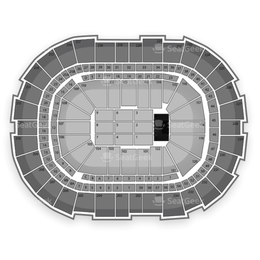 CONSOL Energy Center Seating Chart Classical