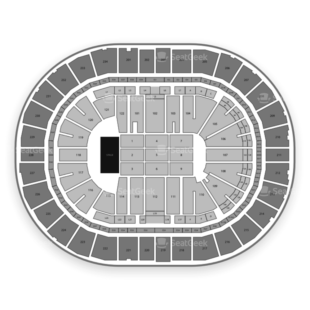 PPG Paints Arena Seating Chart Concert & Map
