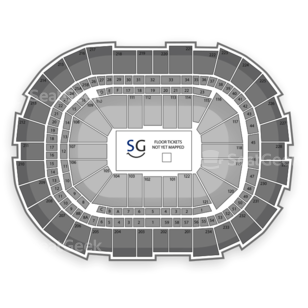CONSOL Energy Center Seating Chart Concert