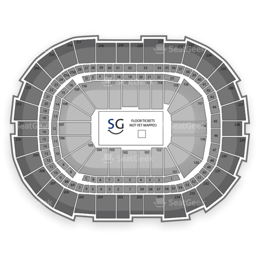 CONSOL Energy Center Seating Chart Family
