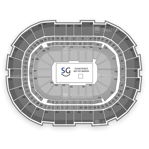 CONSOL Energy Center seating chart SEC Gymnastics