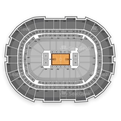 Consol Energy Center seating chart NCAA Men's Basketball Tournament