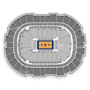 Consol Energy Center Seating Chart NCAA Basketball