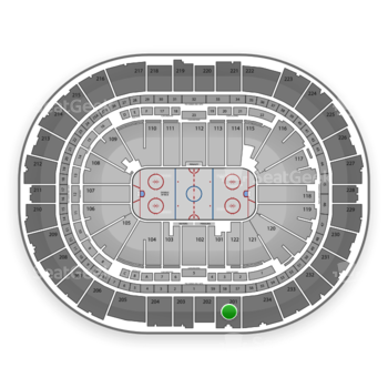 Pittsburgh Penguins at Consol Energy Center Section 201 View