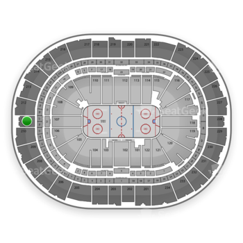 Pittsburgh Penguins at Consol Energy Center Section 211 View