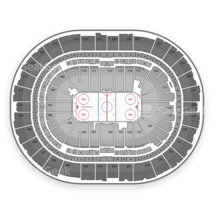 PPG Paints Arena Seating Chart NCAA Hockey