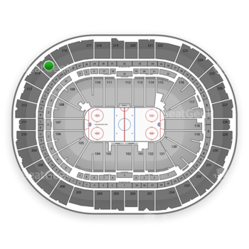 Pittsburgh Penguins at Consol Energy Center Section 215 View