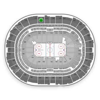 Pittsburgh Penguins at Consol Energy Center Section 218 View