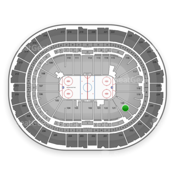 Pittsburgh Penguins at PPG Paints Arena Section 120 View