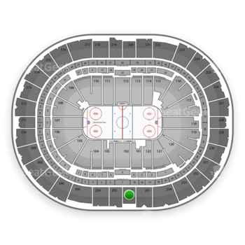 Pittsburgh Penguins at PPG Paints Arena Section 202 View