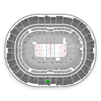 Pittsburgh Penguins at PPG Paints Arena Section 203 View