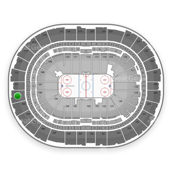 Pittsburgh Penguins at PPG Paints Arena Section 210 View
