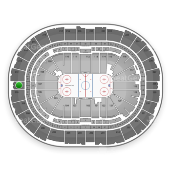 Pittsburgh Penguins at PPG Paints Arena Section 211 View