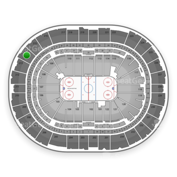 Pittsburgh Penguins at PPG Paints Arena Section 214 View