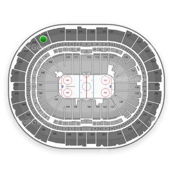 Pittsburgh Penguins at PPG Paints Arena Section 216 View