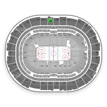 Pittsburgh Penguins at PPG Paints Arena Section 219 View