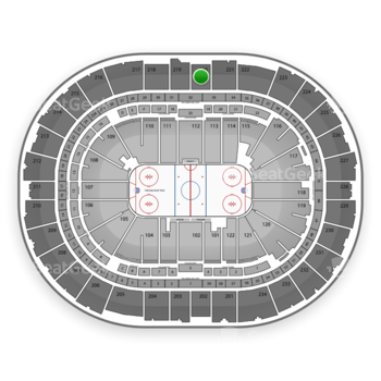 Pittsburgh Penguins at PPG Paints Arena Section 220 View