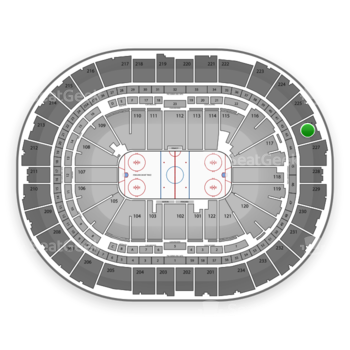 Pittsburgh Penguins at PPG Paints Arena Section 226 View