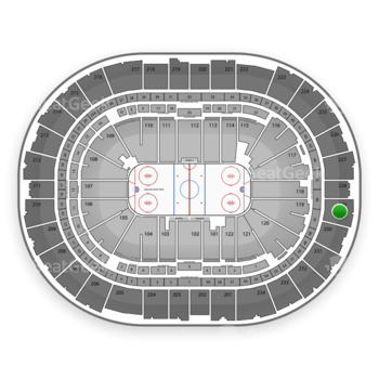 Pittsburgh Penguins at PPG Paints Arena Section 229 View