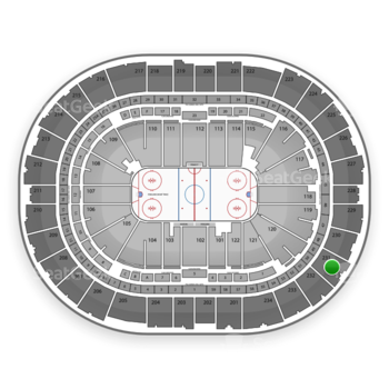 Pittsburgh Penguins at PPG Paints Arena Section 231 View