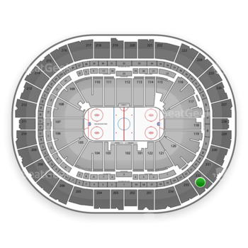 Pittsburgh Penguins at PPG Paints Arena Section 232 View