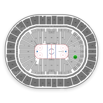 Pittsburgh Penguins at PPG Paints Arena Section 108 View