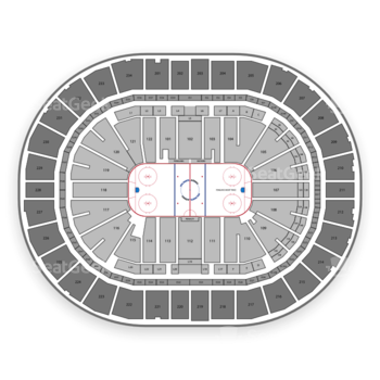 Pittsburgh Penguins at PPG Paints Arena Section 20 View