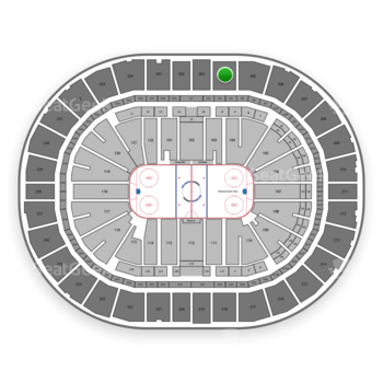 Pittsburgh Penguins at PPG Paints Arena Section 204 View