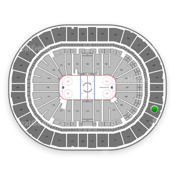 Pittsburgh Penguins at PPG Paints Arena Section 213 View