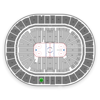 Pittsburgh Penguins at PPG Paints Arena Section 221 View