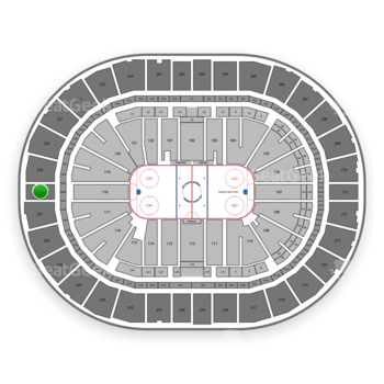 Pittsburgh Penguins at PPG Paints Arena Section 228 View