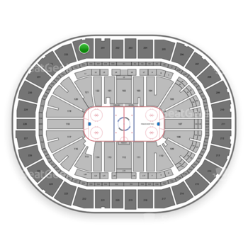 Pittsburgh Penguins at PPG Paints Arena Section 234 View