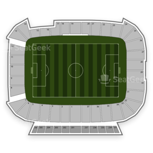 Rio Tinto Stadium Seating Chart Soccer